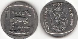 Sud Africa 1 Rand 2003 Km#332 - Sudáfrica