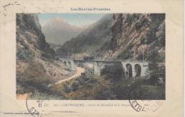 Tram Trein      Cauterets    Pont De Merabet Et Le Peguete          Nr 924 - Tramways