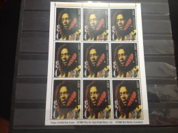 Mongolië / Mongolia - MNH/Postfris - Complete Sheet Bob Marley 1998 Very Rare! - Mongolië