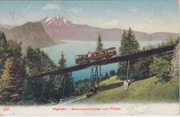 Tram  Trein   Rigibahn   Schnurtebelbrücke Und Pilatus         Nr 926 - Tramways