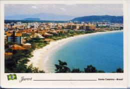 BRASIL - SANTA CATARINA;  JURERE - Vista Parcial,    Nice Stamp - Florianópolis