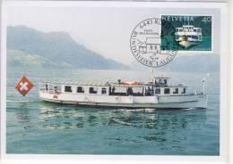 SGV - Motorschiff RÜTLI M. Marke MS GOTTHARD SHIP - Bateaux