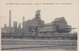 Trein     Goederentrein Wagon   LENS    Avant La Guerre   Fosse 1 Ste-Elisabeth            Nr 930 - Tramways