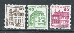 RFA **  N° 876 à 878  - Chateaux - [7] Federal Republic