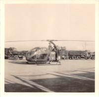 ¤¤  -  Cliché Non Située  -  Hélicoptère De L'Armée  -  Camions  -  Voir Description  -  ¤¤ - Elicotteri