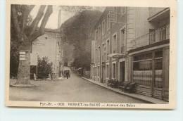 VERNET LES BAINS - Avenue Des Bains. (hotel D'angleterre) - Ceret