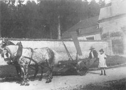 BRIENNE LA VILLE  COLLECTION DU MATERIEL AGRICOLE LA JAVELEUSE EN 1910 REPRODUCTION - Frankrijk