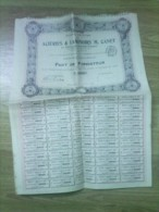 Vieux  Papier : Genre  Action : Acièries Et Laminoir    Route De  Pontoise  A  PERSAN - Old Paper