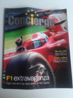 Lib425 Concierge Magazine F1 Racing Abu Dhabi Grand Prix 2009 Etihad Airways Ferrari World Mall Auto Yas Marina Circuit - Sport