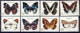 Rwanda - 909/916 - Papillions - 1979 - MNH