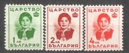 45-478 // BG - 1937  PRINZESSIN  MARIA- LUISA  Mi 312/14 ** - Neufs