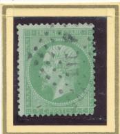 N°20 NUANCE ET OBLITERATION. - 1862 Napoléon III