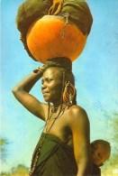1 AK  Tschad Chad * Frau vom Volk der Fulbe (franz�sisch Peul) *
