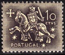PORTUGAL - 1953,  Selo De Autoridade Do Rei D. Dinis .  10 C.  ** MNH  Afinsa  Nº 764 - Unused Stamps