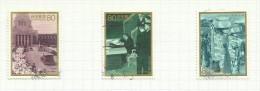 Japon N°2249 à 2251 Côte 3 Euros - 1989-... Emperador Akihito (Era Heisei)