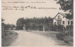 CPA  Saint-Brevin L'Ocean Route De Pornic Au Casino - Saint-Brevin-l'Océan