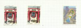 Japon N°2283, 2283a, 2284 Côte 3.50 Euros - 1989-... Emperador Akihito (Era Heisei)