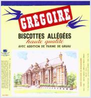 GREGOIRE Biscottes Château D'Arfleur état Aussi Neuf Qu'au Sortir De L'imprimerie - Biscottes