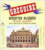 Biscottes   GREGOIRE  L'opéra PARIS   état Aussi Neuf Qu'au Sortir De L'imprimerie - Biscottes