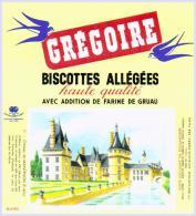 Biscottes   GREGOIRE Château De  MAINTENON  état Aussi Neuf Qu'au Sortir De L'imprimerie - Biscottes
