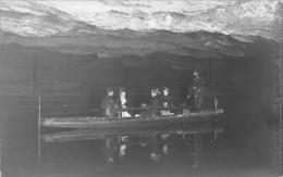 ¤¤  -   Carte-Photo  -   BERCHTESGADEN   -  Barque Avec Passagers Dans Une Grotte Souterraine , Spéléologie        -  ¤¤ - Berchtesgaden