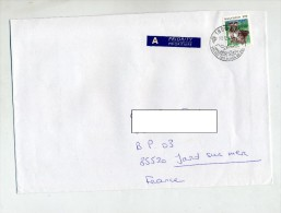 Lettre Cachet Gex Mine De Sel Sur Oie - Postmark Collection