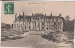 Eure :  SERQUIGNY  ; Le  Château - Serquigny