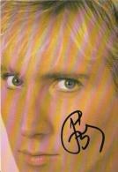 PLASTIC BERTRAND AUTOGRAPHE SIGNE A AGEN EN 1986 - Autographes