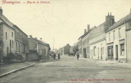 Momignies -Rue De La Station -1909  ( Voir Verso ) - Momignies