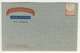 Aerogramma Da Lire 110 (per I Paesi Extra Europei) Nuovo - Varietà Francobollo Spostato Oltre 2 Mm. - 6. 1946-.. Repubblica