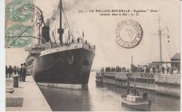 CPA  La Pallice-Rochelle Paquebot Orita Rentrant Dans Le Sas - La Rochelle