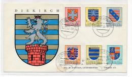 Luxemburg FDC  595-600   ( Bc4147 ) Siehe Scan  ! - Luxemburg
