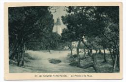 LE TOUQUET PARIS PLAGE--La Pinède Et Le Phare N° 241  éd Bonnaventure - Le Touquet