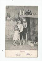 Cp , Enfants , Espérance , Dos Simple , Voyagée 1903 - Children