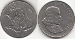 Sud Africa 50 Cents 1966(Afrikans Legend-SUD-AFRIKA Km#70.2 Used - Sud Africa