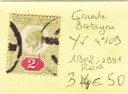 Timbre Grande Bretagne Y&T 109 - 1902-1951 (Re)
