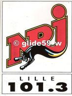Autocollant - NRJ LILLE - 101.3 - Autocollants