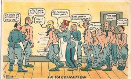 La Vaccination - Künstlerkarten