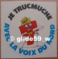 Autocollant - Je Trucmuche Avec La Voix Du Nord - N° 1 - Stickers
