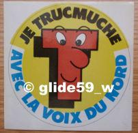 Autocollant - Je Trucmuche Avec La Voix Du Nord - N° 2 - Stickers