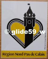 Autocollant - Région Nord-Pas De Calais - Offert Par Le Conseil Régional - Stickers