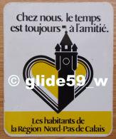 Autocollocant - Les Habitants De La Région Nord-Pas De Calais - Stickers