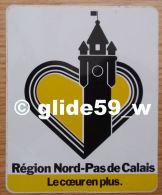 Autocollant - Région Nord-Pas De Calais - Le Coeur En Plus - Stickers