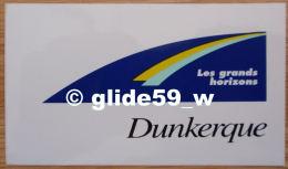 Autocollant - Dunkerque - Les Grands Horizons - Stickers
