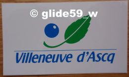 Autocollant - VILLENEUVE D'ASCQ - Stickers