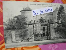 Environs De La Station Des Fumades, Le Château De Potelières, Circulée, Dos Divisé - France
