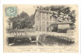 Cp, 61, Bagnoles-de-l'Orne, Etablisseemnt Thermal, La Grande Source, Voyagée 1904 - Bagnoles De L'Orne