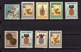 Inde Portuguaise 9 Timbres Oblitérés Ou Neufs - Inde Portugaise