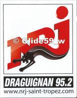 Autocollant - NRJ - Draguignan 95.2 - Autocollants