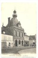 Cp, 78, Bonnières-sur-Seine, La Mairie, Voyagée - Bonnieres Sur Seine